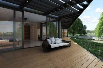 3万以下140平米三室三厅混搭风格客厅设计图