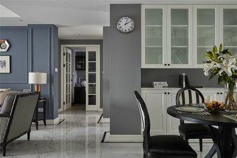 100平米三室两厅美式风格餐厅装修图片大全