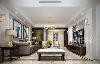 豪华型140平米四室两厅英伦风格客厅图