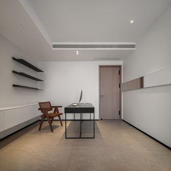 富裕型130平米三室两厅现代简约风格书房装修效果图