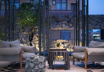 20万以上140平米别墅公装风格客厅图片大全