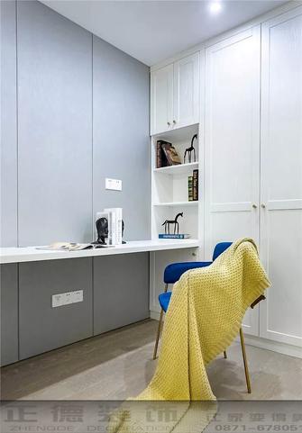 100平米美式风格书房装修案例