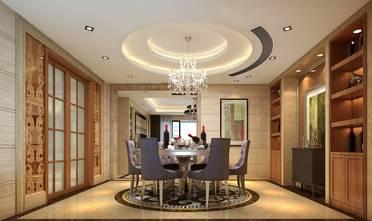 20万以上140平米别墅轻奢风格餐厅装修案例