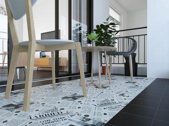 70平米一居室北欧风格阳光房装修案例