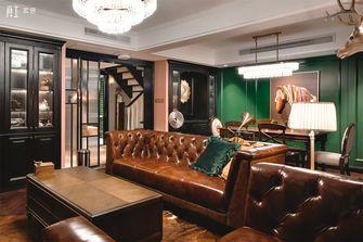 20万以上140平米复式美式风格客厅图片