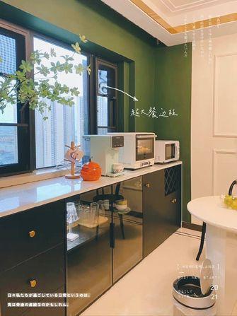 富裕型100平米三室一厅混搭风格厨房装修效果图