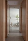 富裕型三日式风格走廊装修效果图