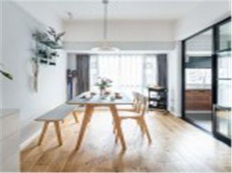 10-15万90平米三室两厅北欧风格餐厅图片大全