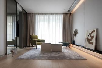 经济型100平米一室两厅现代简约风格客厅图片
