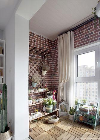 15-20万130平米三室两厅北欧风格阳台装修案例