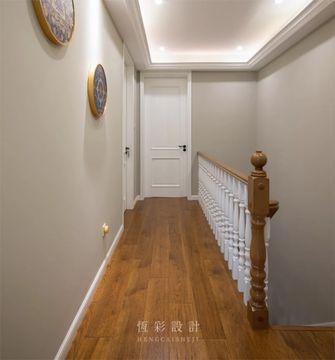 豪华型140平米复式美式风格走廊设计图