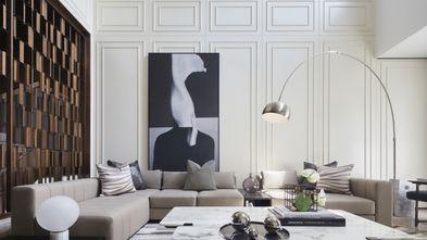 20万以上140平米四室三厅轻奢风格客厅图片