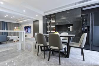 豪华型140平米三室两厅现代简约风格餐厅设计图