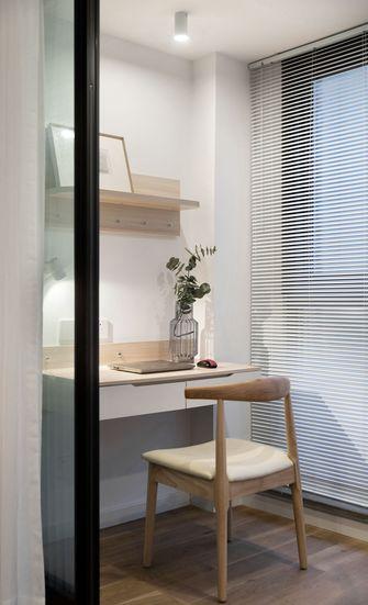 15-20万130平米三室两厅日式风格书房图