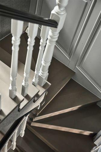 豪华型140平米复式美式风格楼梯间图片大全