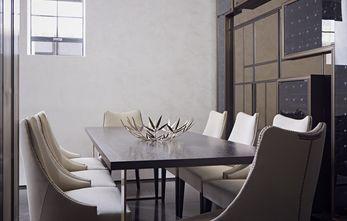 10-15万复式英伦风格餐厅装修效果图