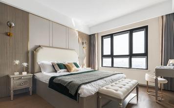 140平米三室两厅美式风格卧室装修效果图