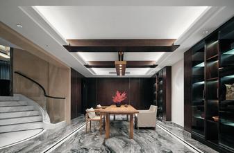 140平米别墅混搭风格书房装修案例