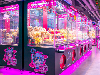 嗨翻Hi-Fun竞技主题乐园·电玩城娃娃机(常州店)