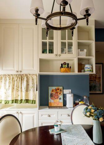 经济型70平米三室一厅美式风格餐厅设计图