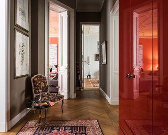 20万以上130平米三室一厅地中海风格玄关图片大全