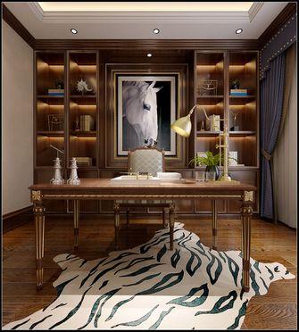 140平米四室四厅美式风格书房装修图片大全
