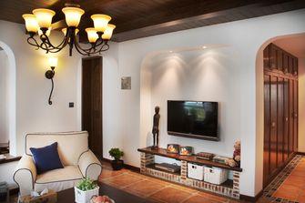 富裕型90平米三室一厅地中海风格客厅图片