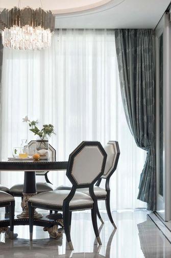 140平米三室三厅欧式风格餐厅设计图