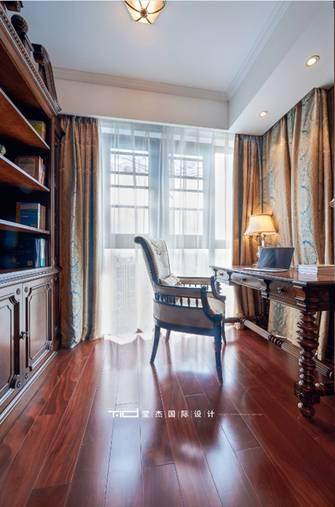 140平米四美式风格书房图片