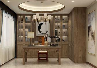120平米三中式风格书房设计图