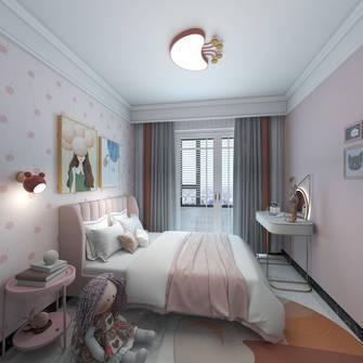 80平米公寓轻奢风格卧室装修案例
