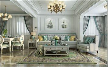 富裕型140平米四室两厅田园风格客厅装修图片大全