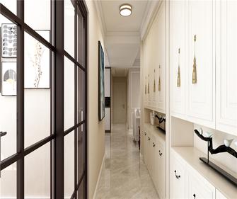 富裕型130平米三室两厅美式风格玄关装修图片大全