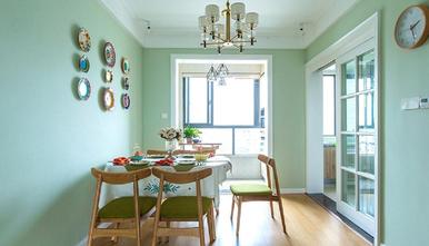 10-15万100平米三室两厅日式风格餐厅图片