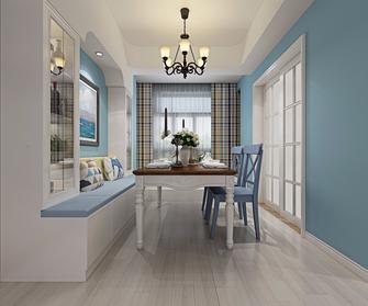 90平米一室一厅地中海风格餐厅图