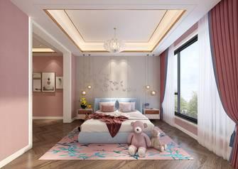 140平米三室四厅轻奢风格卧室图
