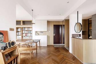 50平米一室一厅现代简约风格玄关图