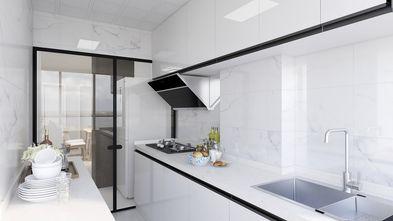 经济型50平米现代简约风格厨房图