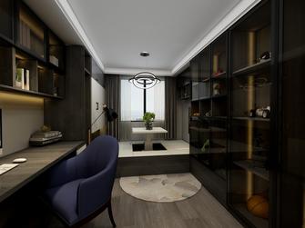 50平米一室一厅欧式风格书房图