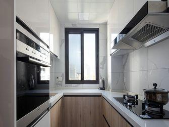 富裕型110平米三室两厅日式风格厨房装修图片大全