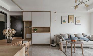 经济型80平米三室一厅日式风格玄关欣赏图