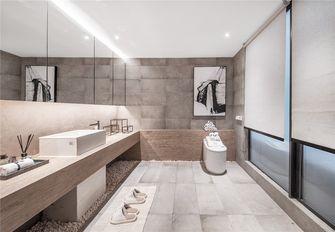 140平米别墅日式风格卫生间图