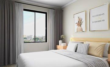 5-10万80平米北欧风格卧室装修效果图