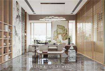 豪华型140平米别墅轻奢风格书房装修效果图