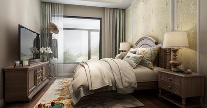经济型140平米别墅田园风格卧室效果图