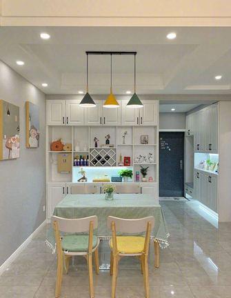 经济型公寓轻奢风格餐厅设计图