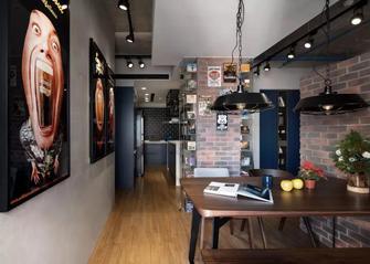 70平米工业风风格餐厅装修图片大全