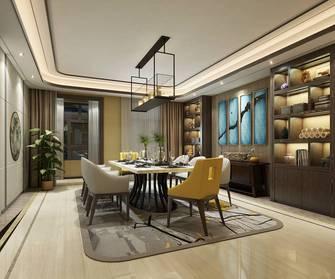 豪华型140平米四室一厅中式风格餐厅设计图