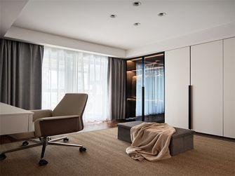 经济型140平米三室两厅现代简约风格衣帽间效果图