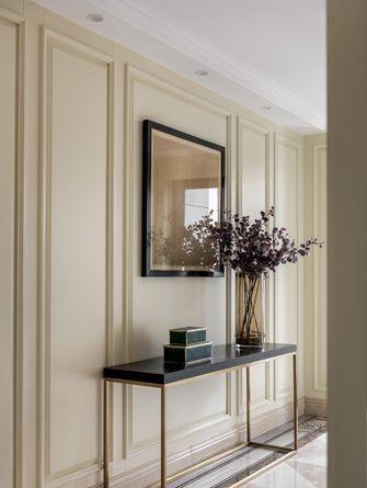富裕型110平米三室一厅欧式风格玄关图片大全